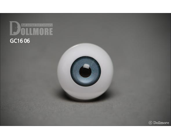 (국산) Crystal acrylic eyes 16mm - GC16-06 Cobalt