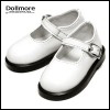 MSD - Basic Girl Shoes (White Enamel)
