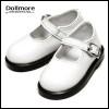 MSD - Basic Girl Shoes (White Enamel)