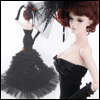 Fashion Doll Size : Calendula Dress (Black)