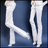 Fashion Doll Size : Basic Skinny Pants (White)