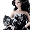 Fashion Doll Size : Black Ebony Dress Set