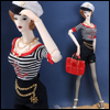 Fashion Doll Size : Marine Girl Set