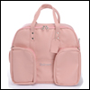 SD - Double BJD Carrage Bag (Leather Pink)
