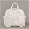 SD - Double BJD Carrage Bag (Leather Ivory)