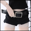 Fashion Doll Size : Hot-Issue Mini Hot-Pants (Black)
