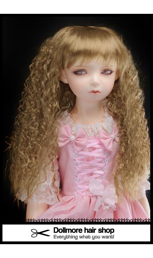 (13-14) Soft Sobazu Wig (Red Brown)