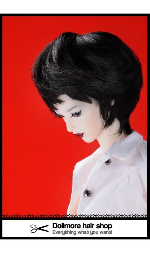 (4-5) Enfant Short Cut (Black)