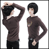 Fashion Doll M - Basic Wig T (D.Brown)
