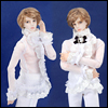 Fashion Doll M - Charles Blouse (White)