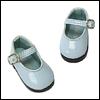 Dear Doll Size - Basic Girl Shoes (Sky Enamel)