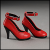MSD (high heels's) Shoes - Basic Shoes (Red)