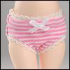 Dear Doll Size - Basic Type Panty (Line pink)