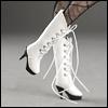 """12"""" Shilla Boots (White)"""