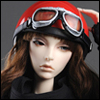 (8-9) Max Jet Helmet (Red)