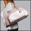 MSD Quilted padded BJD carrier (Pink)