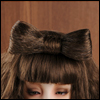 MSD & Model Size - Lavonne hairpin (Brown)