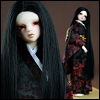 (7-8) Risca Long Straight Wig (Black)