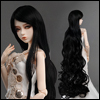 (8-9) Rapunzell Long Wig (Black)