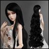 (8-9) Rapunzell Long Wig (Black)