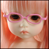 USD - Shape Steel Lensless Frames (Pink)