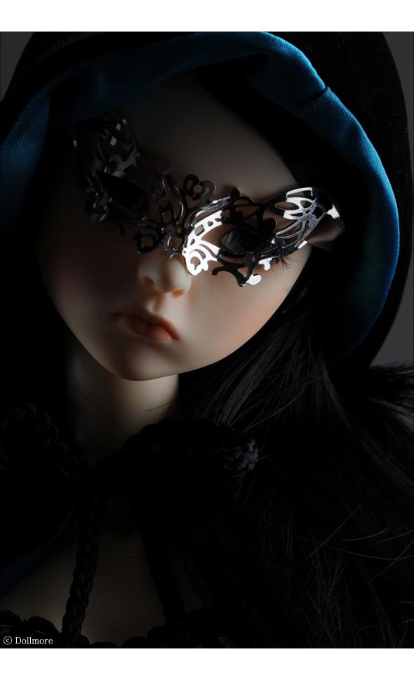 All Size - Venezia Mask (White Gold)