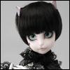 (7-8) SG Short Cut Cat Wig (BR-Black)