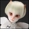 (7-8) SG Short Cut Cat Wig (Cream)
