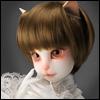 (7-8) SG Short Cut Cat Wig (Brown)