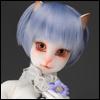(7-8) SG Short Cut Cat Wig (Blue)