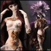 Fashion Doll - Invisible Tattoo : Mika - LE15