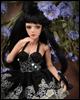 """12"""" Basic Gem Doll - Graygem Dona (D.Skin + Black) - LE50"""
