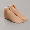 "12"" Doll Size - Basic Feet Set (ABS/D. Skin)"