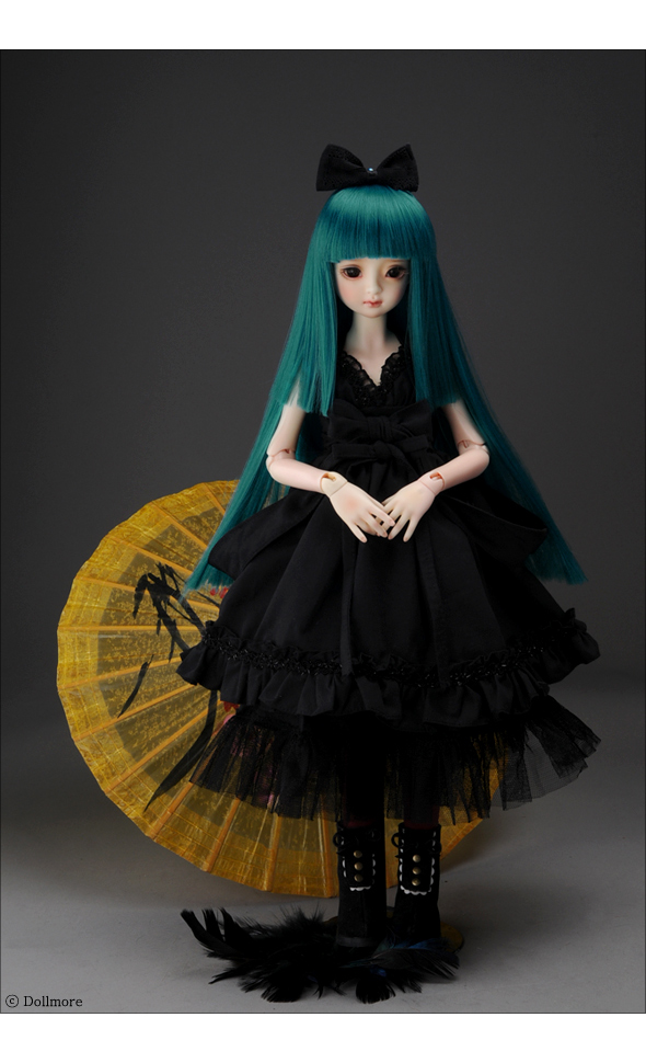(7-8) Cleopatra Long Wig (P.Blue)