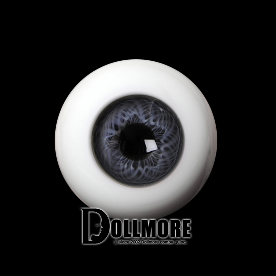 18mm Glass Eye (Gray)