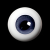 26mm -PP Solid Half Round Low Dome Glass Eyes (Ash 19)