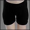 Dear Doll Size - Boy trunk span panties (Black)