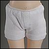 Dear Doll Size - Boy trunk span panties (White)