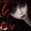 Dollpire Kid Girl - Black Glass Side ; Normal Grammy - LE44