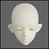 Dollmore Model Doll Head - Thinking Lisa Rubik (White Skin)