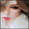 Model Doll - Freckle-Snowed keeley - LE20
