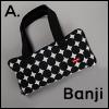 Banji Size - BJD Cloud Carrage Bag (Black-A)