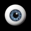 Optical Acrylic Doll Eyes 28mm (FC01 - Blue)