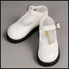 Alex & Zaoll - Noble Basic Girl Shoes (White Enamel)