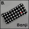 Banji Size - BJD Cloud Carrage Bag (Black-B)