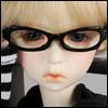 MSD - Dollmore Lensless Sunglasses II (Black)