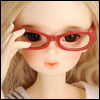 MSD - Dollmore Lensless Sunglasses II (Red)