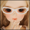 MSD - Dollmore Lensless Sunglasses II (White)