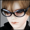 SD - Dollmore Lensless Sunglasses I (D.navy)