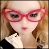 SD - Dollmore Lensless Sunglasses I (D.Pink)